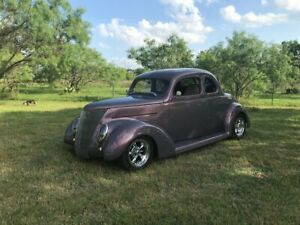 1937 Other All Steel Mark 8 Drivetrain and paint AC 1937 Ford Coupe All Steel Mark 8 Drivetrain and paint AC 9481 Miles Purple Metal