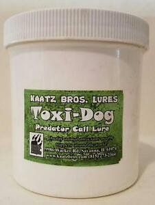 Toxi Dog Predator Call Lure Kaatz Bros Lures 16oz Coyote Fox Bobcat Trapping Fur