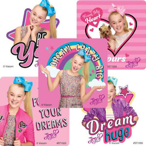 25 Jojo Siwa Stickers Party Favors Teacher Supply Dance Rewards $3.35