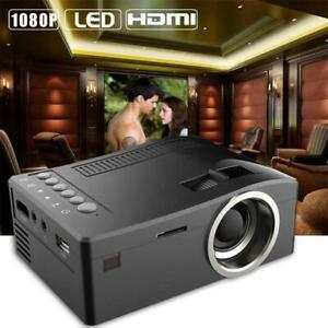 1080P Full HD LED Home MulitMedia Theater Cinema USB TV VGA SD Mini Projector US