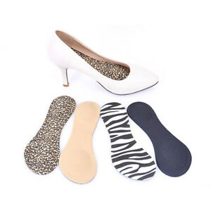 Heel Foot Cushion&Pad 3&4 Insole Shoe pad For Vogue Women Orthotic Arch Suppo LU