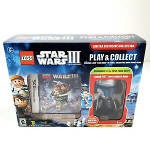 Lego Star Wars III: The Clone Wars Play & Collect (Nintendo 3DS) New Sealed