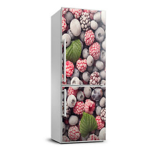 3D  Refrigerator Wall Self Adhesive Removable Sticker Decal Food Frozen fruit