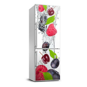 3D  Refrigerator Wall Self Adhesive Removable Sticker Decal Food Forest fruits