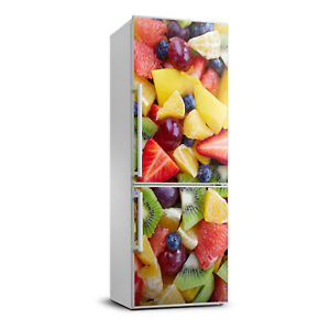 3D  Refrigerator Wall Self Adhesive Removable Sticker Decal Food Chopped fruit