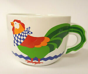 FTD Chicken Soup Bouquet Colorful Chicken Soup Bowl Coffee Mug B87 $19.99