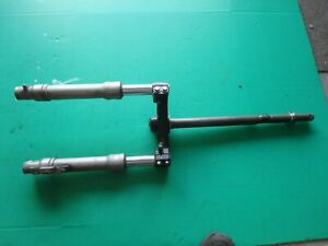 2009 Piaggio Fly 50 4t scooter front forks triple clamps