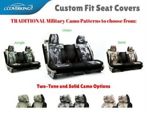TRADITIONAL MILITARY CAMO CUSTOM FIT SEAT COVERS for MITSUBISHI LANCER