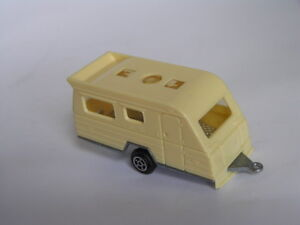 OLD NOREV CARAVAN CAMPING TRAILER MADE IN FRANCE  MATCHBOX SIZE  EXC  LOOSE
