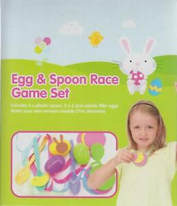 Easter egg and spoon game set