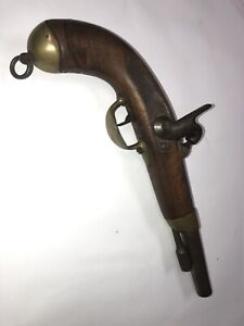 1822 French percussion military pistol Mre. Rle. ELG Proof St. Etienne Must See