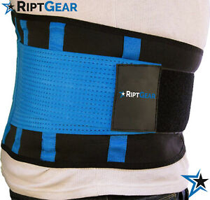 Back Brace for Men and Women by RiptGear - Back Pain Relief and Lumbar Support