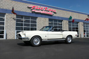 1968 Shelby Highly Documented From New 1968 Shelby GT500 Convertible Correct 428 PI V8 4 Speed Manual Highly Documented