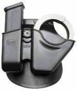 Fobus Handcuff / Mag Combo - 9mm Double Stack CU9RB214 Pistol Magazine Pouch