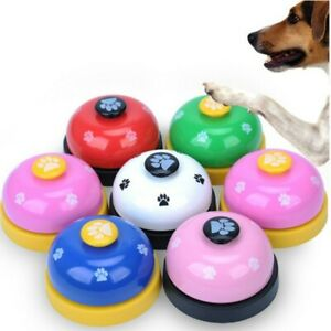 Pet Dog Cat Training Bell Meal Bell Puppy Potty Trainer Communication Device ET