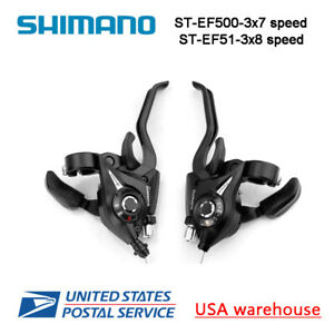 Shimano ST EF51 EF500 EF65 3x7 8 9 Speed Shifters Brake Levers Combo Kit