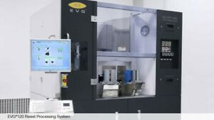 EVG120 AUTOMATED RESIST PUMP SYSTEM-SPRAY COATER  ATOMIZER-CASSETTE TO CASSETTE