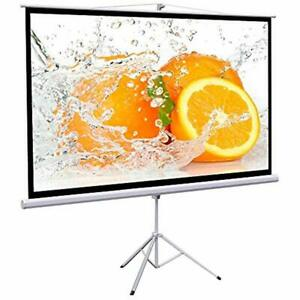 Projection Screen 100 Inch 169 Manual Pull Down Projector 87