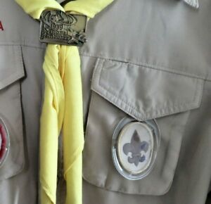 Boy Scout Rank Patch Holder Display for Uniform Shirt