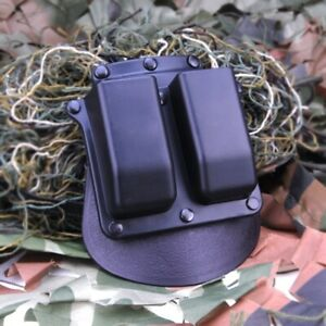 New Hunting Holster 6900 Paddle Double Magazine Pouch For Glock 9mm .40 Cal Mags