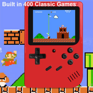 Built-in 400 Games Retro Portable Mini Handheld Game TV Console Kids Game Player