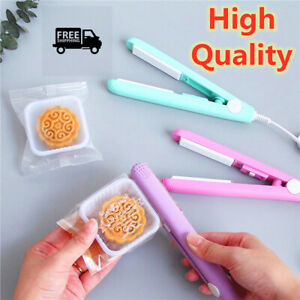Portable Bag Clips Handheld Mini Electric Heat Sealing Machine Vacuum Sealer 27