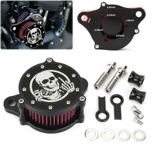 Motorcycle Air Cleaner Intake Filter Kit For Harley Sportster 1200 Low XL883L $49.99
