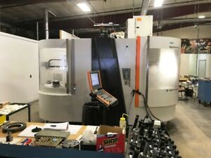 USED MIKRON HSM 600U 5-AXIS CNC VERTICAL MACHINING CENTER NEW 2011