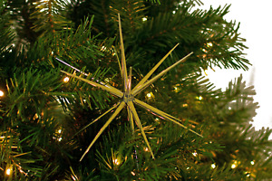 STARBURST CHRISTMAS ORNAMENTS HANGING STAR DECORATION STARBURSTS ACCENT $12.99