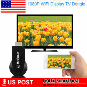 Miracast Mirascreen 1080P Wireless WiFi HDMI Display TV Dongle Receiver Airplay