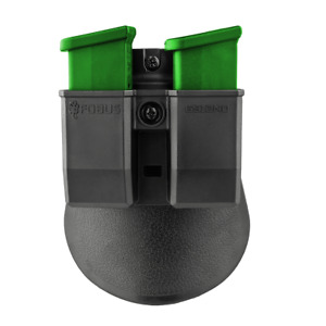 Fobus Single-Stack Glock 43 9mm Double Magazine Pouch - 6912 ND