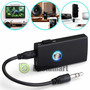 2in1 Wireless Bluetooth Transmitter & Receiver A2DP Home TV Stereo Audio Adapter