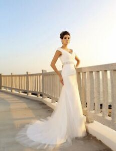 New White Wedding Dress Bridal Gown