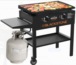 Griddle Cooking Station Flat Top Blackstone 28 2 Bunners BBQ Tailgate Party NEW