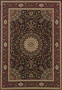 2x8 Runner Sphinx Oriental Brown Oriental 95N Area Rug - Approx 2' 3'' x 7' 9''