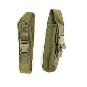 Set of 2 Eagle Industries Pop Flare Pouches 1 Up 1 Down SFLCS MOLLE Khaki