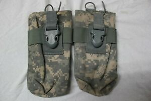 2 Initial Attack US Army Military Radio Comms Molle Pouch Digital Camo ACU 2