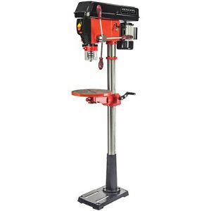General International 16 Speed Drill Press wCross-pattern Laser