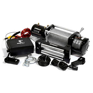 Speedmaster 12000lbs / 5445kgs 12V Electric 4wd Winch Kit w/ Wireless Remote