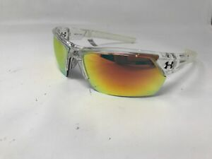 New Under Armour Igniter 2.0 Sunglasses Gray & Orange Multiflection Lens