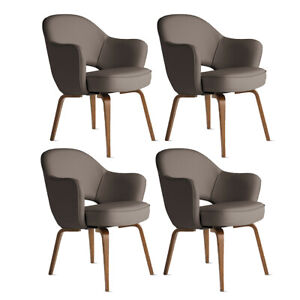 Authentic Knoll® Saarinen Executive Armchair Set of 4  Design Within Reach