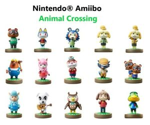 Nintendo® Amiibo Figure Animal Crossing Series Figure Pick Your Own $7.72