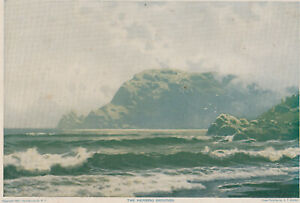 original 1899 chromolithograph A T Bricher THE HERRING GROUNDS $17.50
