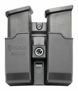 Fobus Roto Belt Double Magazine Pouch For Glock/H&K USP 9mm/.40 Double: 6900NDRB