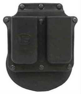 Fobus Double Mag Paddle Pouch, Single Stack, 9mm/45, RH