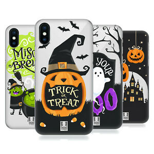 HEAD CASE DESIGNS HALLOWEEN CHARACTERS BACK CASE FOR APPLE iPHONE PHONES