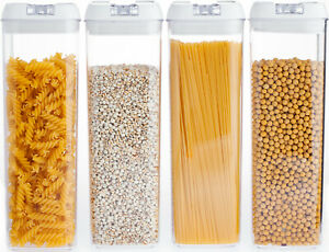 Airtight Food Storage Container made by Durable BPA-free Plastic