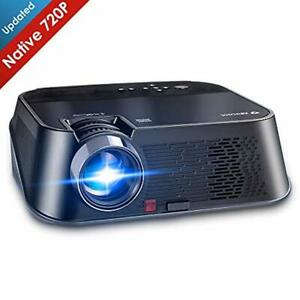 LED Video Projector 1080P Full HD Home Video Theater with Fire TV Stick Roku