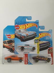 Hot Wheels 68Chevy Nova,lot 3