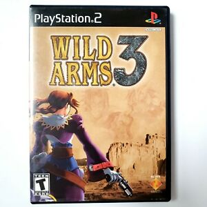 Wild Arms 3 (Sony PlayStation 2 2002) Complete Tested